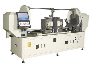 DR-120. Двухконсольный станок с ЧПУ для гибки проволоки 2.5 - 7мм