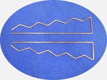 Проволокогибочный станок с ЧПУ. Гибка проволочного изделия ЗИГ-ЗАГ.