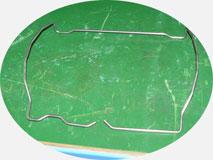 Проволокогиб с ЧПУ. Элемент каркаса заднего автомобильного сиденья.