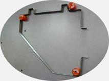 Станок для гибки проволоки 3D-R70. Гибка элементов тарелкосушек.