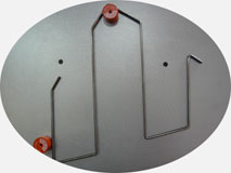 Станок для гибки проволоки 3D-R70. Гибка плоских изделий из проволоки.