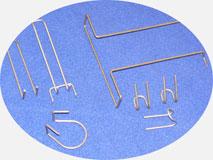 Станок для гибки проволоки. Подставки, крючки и другие изделия торгового оборудования.